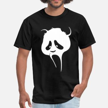Panda Nation Scream Panda - Men's T-Shirt