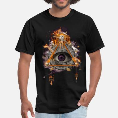 Illuminati All Seeing Eye - Men's T-Shirt