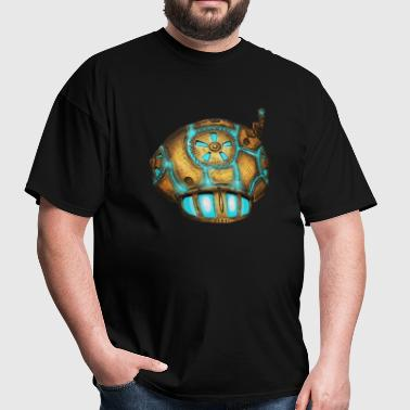 steampunk shroom - Men's T-Shirt