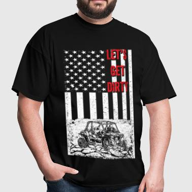 Offroad - Let's get dirty flag - Men's T-Shirt