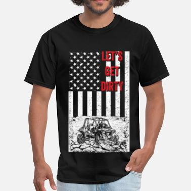 Offroad Vehicles Offroad - Let's get dirty flag - Men's T-Shirt