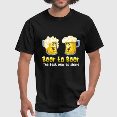 Beer to beer - Men's T-Shirt