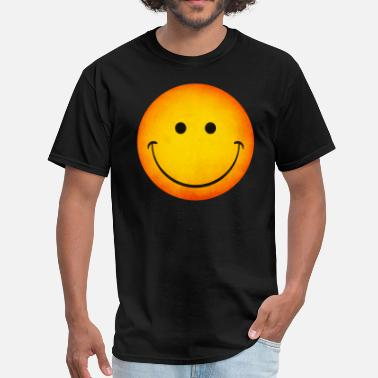 Face Smiling Happy Face Emoji - Men's T-Shirt