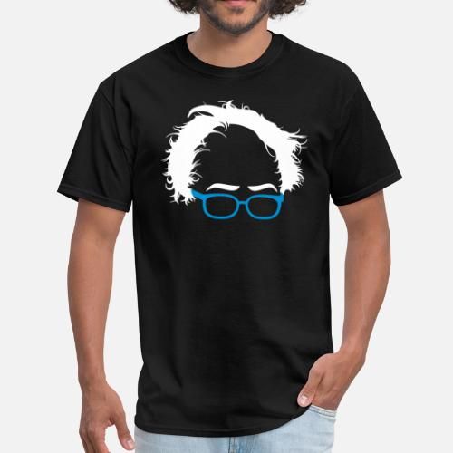 ef22e81e53a72d Bernie Sanders Hair Men s T-Shirt