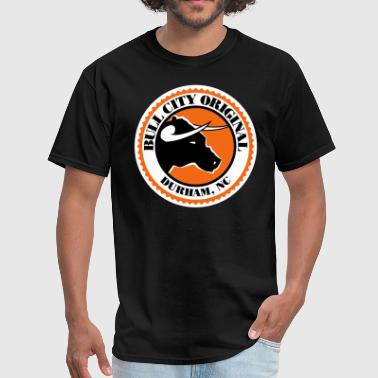 Bull City Original Seal- 3XL & 4XL - Men's T-Shirt