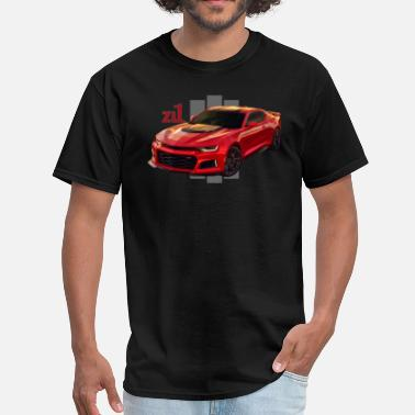 Zl1 Muscle Car Fast Ride - Men's T-Shirt