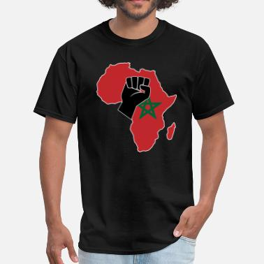 Morocco Pride MOROCCO FLAG - Men's T-Shirt
