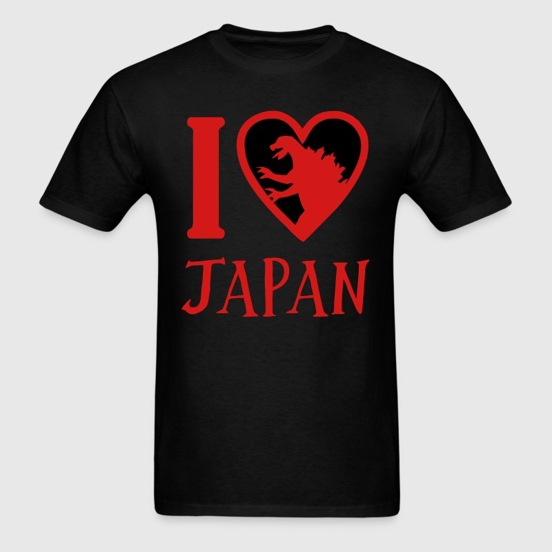 Godzilla Heart Japan - Men's T-Shirt