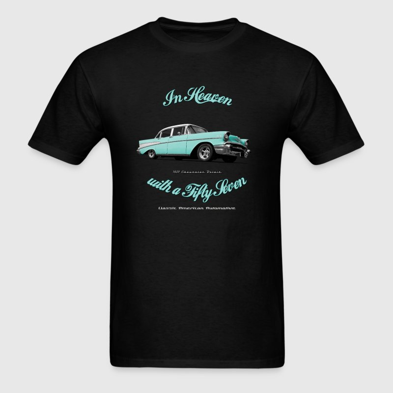 57-Chevy-Belair - Men's T-Shirt