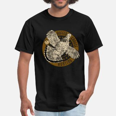 Sanguemiele Bird Dog ruffed_grouse - Men's T-Shirt