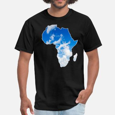 Sky Map Africa map sky - Men's T-Shirt