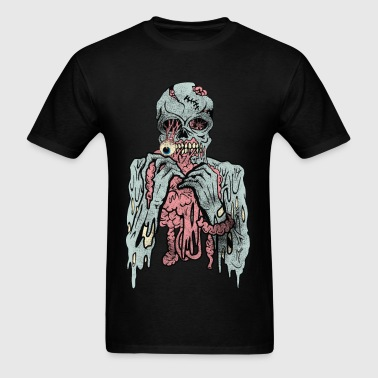 Scary Cannibal Zombies  - Men's T-Shirt