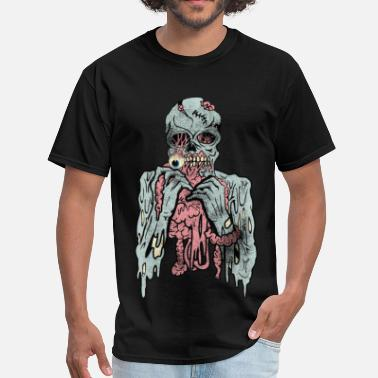 Cannibalism Scary Cannibal Zombies  - Men's T-Shirt