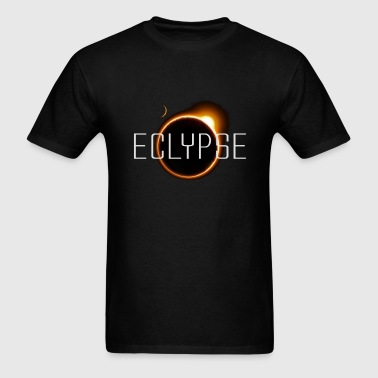 eclipse (blk background) - Men's T-Shirt