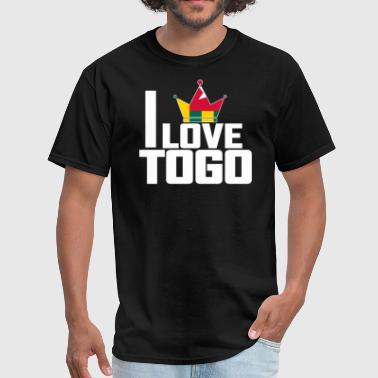 I LOVE TOGO - Men's T-Shirt