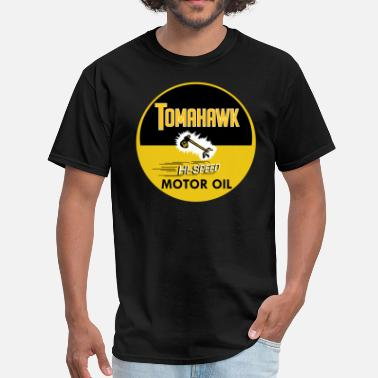 Oil Tomahawk - Men's T-Shirt
