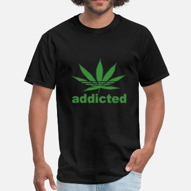 Retro Addict ADDICTED - Men's T-Shirt