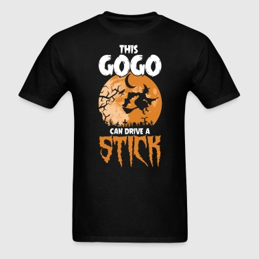 Gogo I Drive a Stick Halloween Costume - Men's T-Shirt
