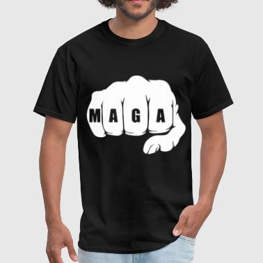 Grab Em By The Pussy MAGA Fist Trump Alt Right - Men's T-Shirt