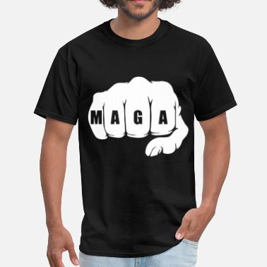 Mcdonalds MAGA Fist Trump Alt Right - Men's T-Shirt