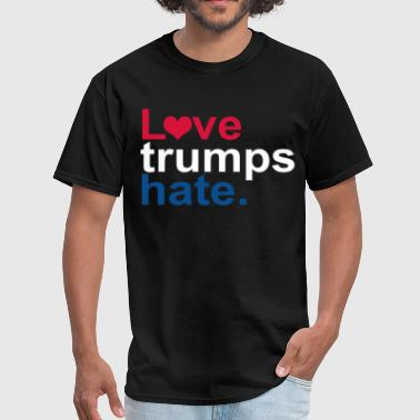 Big Brother Again Love Trumps Hate Election President Vote USA Ameri - Men's T-Shirt