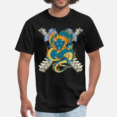Greenboy Dragon Tattoo - Men's T-Shirt