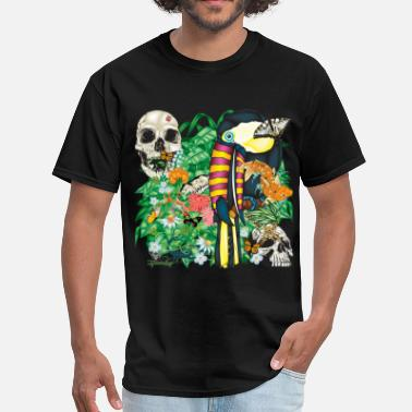Greenboy Toucan Tattoo - Men's T-Shirt