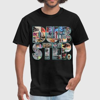 collage dubstep small block - Men's T-Shirt