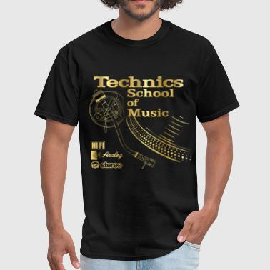 technics deejay - Men's T-Shirt