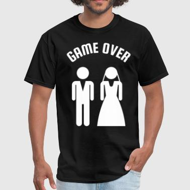Game Over Bachelor Party - Men's T-Shirt