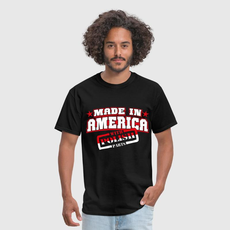 made_in_america__polish Parts - Men's T-Shirt