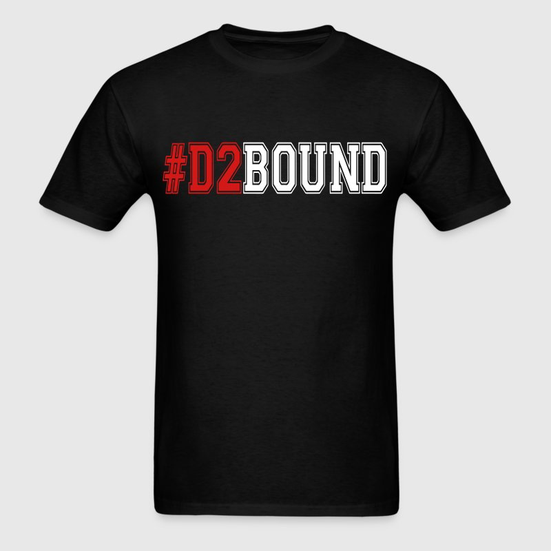 #D2BOUND College Athlete - Men's T-Shirt
