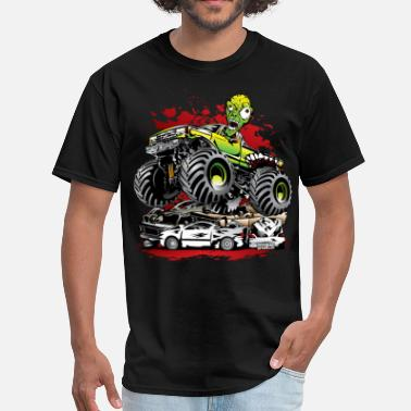 Monster Truck Ghoulish Monster Truck - Men's T-Shirt