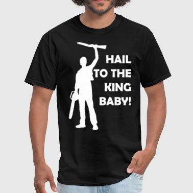 Evil-dead Baby Evil Dead Hail To The King Baby Ash Vs Army of Dar - Men's T-Shirt