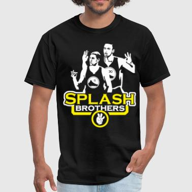 Splash Brothers Steph Curry Klay Thompson Golden S - Men's T-Shirt