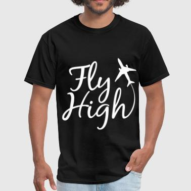 LIT FLY HIGH LITOFFICIAL.COM - Men's T-Shirt