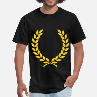 Laurel Wreath Wreath - Men's T-Shirt