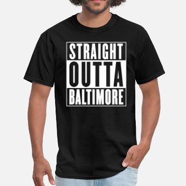 Yella Straight Outta Baltimore - Men's T-Shirt