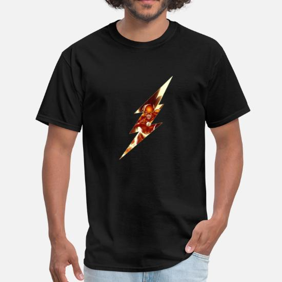 e13232ca Flash Lightning Bolt - Men's T-Shirt. Back. Back. Design. Front