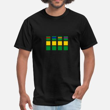 Minimalist Minimalism Turtles - Men's T-Shirt