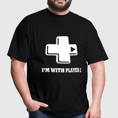 I'm With Player Two - Men's T-Shirt