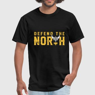 Swedish Wife defend the north viking - Men's T-Shirt
