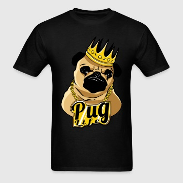 Pug Life Thug Life Videos - Men's T-Shirt