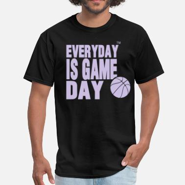 Always In Scoring Position EVERYDAY IS GAME DAY BASKETBALL™ - Men's T-Shirt