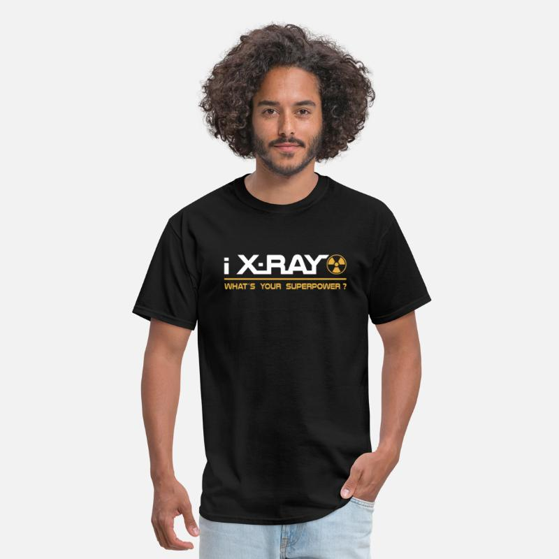 Tech T-Shirts - X-Ray T-Shirt - I X-Ray What's Your Superpower Tee - Men's T-Shirt black
