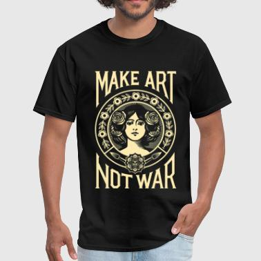 Make Art Not War - Men's T-Shirt