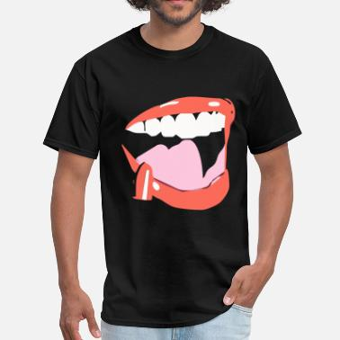 Sexy Trance Sexy Lips For Dark T-shirts - Men's T-Shirt