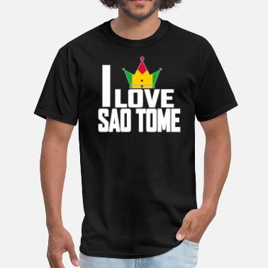 Sao I LOVE SAO TOME - Men's T-Shirt