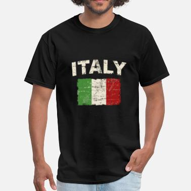 Italian Flag Italy Flag - Men's T-Shirt
