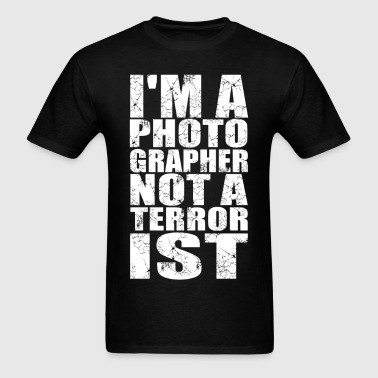 Photograpger Terrorist - Men's T-Shirt